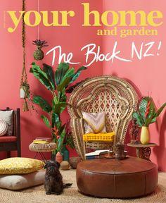Alex Corban S Balinese Botanical Your Home Garden Magazine Cover The Block