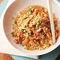 Hot and Spicy Braised Peanut Chicken [slow cooker] [BHG]