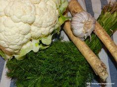 Kalafior kiszony | Stare Gary Spaghetti Squash, Cauliflower, Dinner, Vegetables, Recipes, Food, Dining, Cauliflowers, Food Dinners