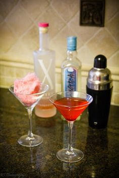 Have a Happy National Cotton Candy Day with a Cotton Candy-tini!