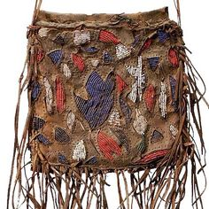 Africa | Yoruba Diviner's Bag. Nigeria  Used to carry divination objects and…