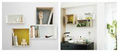 Shelf system 'Mini Stacked' byMuuto.  http://t-h-i-n-g-s.blogspot.com