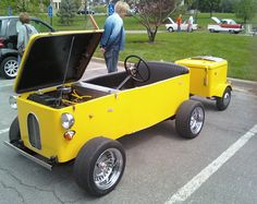 From life as a fridge to becoming a micro-car