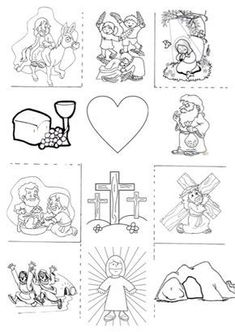 Osterkreuz sunday school crafts for kids Holy Week Activities, Sunday School Activities, Bible Activities, Sunday School Lessons, Sunday School Crafts, Easter Activities, Bible Story Crafts, Bible School Crafts, Idees Cate
