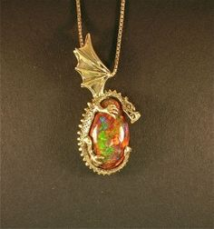 Grotto Dragon Pendant