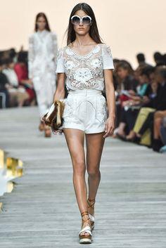 Roberto Cavalli Spring 2015 Ready-to-Wear Fashion Show - Ronja Furrer