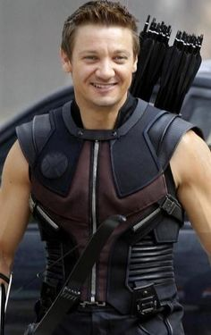 The Avengers Hawkeye Leather Costume