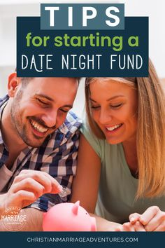 Do you long for fun-filled date nights, but are a little strapped for cash? Discover quick ways to save money for date night so you can enjoy time alone together. Plus, discover frugal living tips to help you thrive while you wait for your money to accumulate. || Christian Marriage Adventures #marriage #christianmarriage #datenight #datenightideas #christianmarriageadventures
