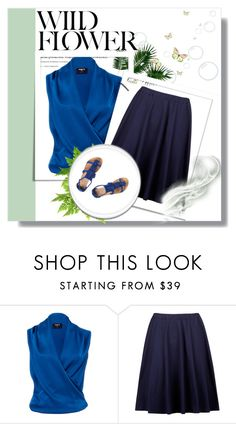 """""""20"""" by jassemin ❤ liked on Polyvore featuring Paule Ka and Dorothy Perkins"""