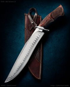It's time again to kick off our annual Bowie festival here on the forums, so I. Cool Knives, Knives And Swords, Damascus Knife, Handmade Knives, Fixed Blade Knife, Custom Knives, Lame, Swiss Army Knife, Knife Making