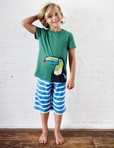Discover our range of boys' nightwear at Boden. Browse our cosy collection of printed pyjamas and soft slippers sure to keep things snug at bedtime. Kids Pajamas, Pyjamas, Barefoot Kids, Kids Photography Boys, Young Cute Boys, Soft Slippers, Child Models, Nightwear, Boy Fashion