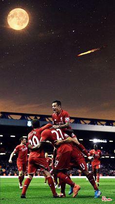Liverpool History, Fc Liverpool, Liverpool Football Club, Red Day, You'll Never Walk Alone, Best Club, Football Wallpaper, European Football, Premier League