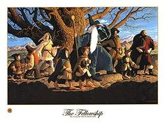 The Fellowship of the Ring - SIGNED BY GREG AND TIM, Brothers Hildebrandt