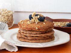 Gluten Free Oat, Quinoa, and Almond Flour Pancakes