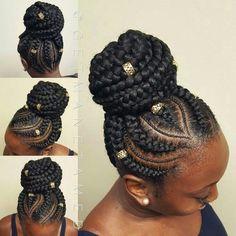 Box braids hairstyles ideas updo ##boxbraids #CornrowsUpdo
