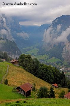 Wengen Switzerland. Been there, done that. :)