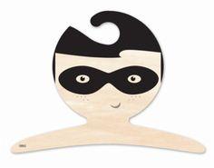 Super Hero boy kapstok hout #jongenskamer | Kidsdinge