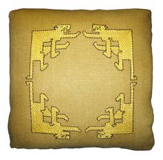 'Batchelder Cats' is a kit from <a ref='http://artsandcraftshomes.com/arts-crafts-period-textiles/'>Arts & Crafts Period Textiles</a>.