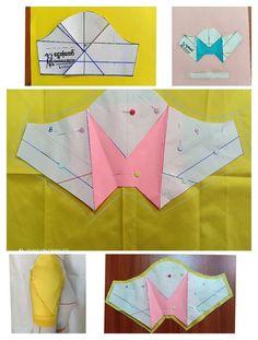 "@terziparcacigi on Instagram: ""❤ . . . . . . . . .  sew sewing pattern sewinglife dressmaker terzi…"" Sleeves Designs For Dresses, Sleeve Designs, Dress Neck Designs, Pattern Drafting Tutorials, Sewing Tutorials, Dress Sewing Patterns, Clothing Patterns, Sewing Sleeves, Pola Lengan"