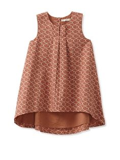 Pale Cloud Girl's Carmen Dress