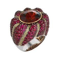 Dazzling Zircon Glamour Ring - My CMSMy CMS