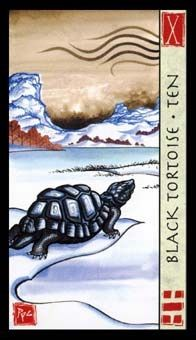 November 28 Tarot Card: Ten of Wands (Feng Shui deck) You don't have to take on the weight you do. Rethink things today, and consider what you can let go of to move forward lightly