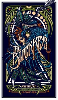 36 Ideas music poster art illustration the black keys Rock Posters, Band Posters, Concert Posters, Retro Posters, Event Posters, Poster Art, Poster Design, Gig Poster, Flyer Design