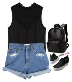 """NC 3.29"" by emilypondng ❤ liked on Polyvore"