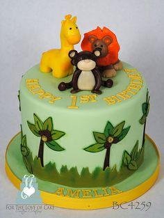 BC4259-safari-1st-birthday-cake-toronto-oakville