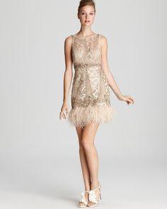 Vestido de fiesta crudo vintage