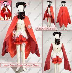 Puella Magi Madoka Magica Charlotte Cosplay Costume Custom