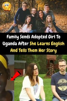 #Family #Sends #Adopted #Girl #Uganda #After #Learns #English #Tells #Story New Years Eve Outfits, Uganda, Learn English, Love Her, Eye Makeup, Adoption, Relationship, How To Plan, Learning