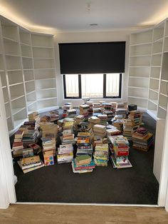 How a Little Idea Became a Little Library Ikea Billy Bookcase Hack, Wall Bookshelves, Wall Shelves, Home Library Design, Skirting Boards, Little Library, 7 Months, Cabinet Makers, Strip Lighting