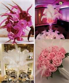 Feathers have such a romantic touch! See more floral wedding trends here: http://www.puffnstuff.com/2011/12/05/floral-weddingtrends-the-freshest-trends-of-the-season/