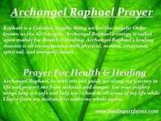 Archangel Raphael Prayer - Prayer for Health & Healing