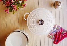 Redondas de Ternera con Salsa de Aceituna de Soller y presentación del nuevo Colorido de Las Cocotte de Le Creuset