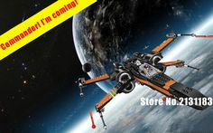 Star Warship The wars TIE first order poe's Rebel X-wing Fighter model Building Blocks compatiable with lego kid gift set #Affiliate