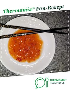 Thai Sweet Chili Sauce by A Thermomix ® recipe from the Sauces / Dips / Spreads category on www.de, the Thermomix ® Community. Thai sweet chili sauce Ela Thermo-Saucen Thai Sweet Chili Sauce by A Thermomix Turkey Crockpot Recipes, Ground Beef Recipes Easy, Meat Recipes, Vegetarian Recipes, Chili Recipes, Sauce Thai, Thai Sweet Chili Sauce, Vegetarian Chili Crock Pot, Chili Sauce Recipe
