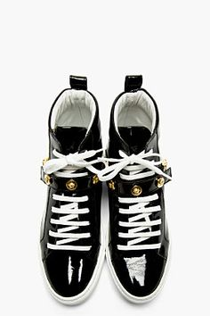 Versace high top sneakers