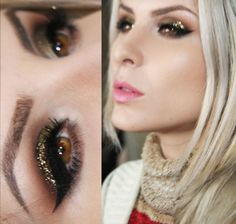 Like this look? Click here to see a pictorial by Claudia Guillen where she uses the Makeup Geek Utopia pigment and Immortal gel liner to create this beautiful smokey eye!