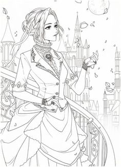 Coloring Pages For Grown Ups, Cute Coloring Pages, Adult Coloring Pages, Coloring Books, Princess Coloring Pages, Hipster Drawings, Easy Drawings, Couple Drawings, Pencil Drawings