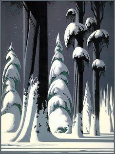Необычный художник Eyvind Earle. Обсуждение на LiveInternet - Российский Сервис Онлайн-Дневников