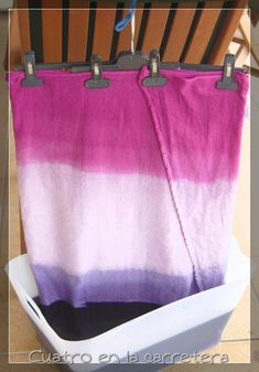 Diy And Crafts, Arts And Crafts, How To Dye Fabric, Shibori, Valance Curtains, Fiber, Tie Dye, Quilts, Sanskrit