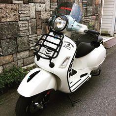 Moped Motorcycle, Vespa Bike, Vespa Scooters, Vespa 300, New Vespa, Vespa Roller, Super Sport, My Ride, Motor Car