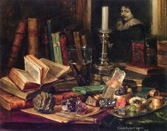 Claude Raguet Hirst - Sumptuous Still Life +