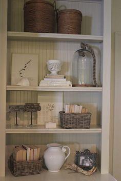 neutral shelves