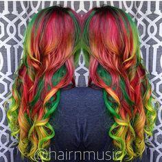 #btconeshot_color16 #btconeshot_rainbow16 #btconeshot_transformations16 #btconeshot_haircolor16 #btconeshot_hairpaint16 #btconeshot_curls16 #btconeshot_extensions16 #posionivy #rainbowhair #mermicorn #unicornhair #unicorn #mermaid #magicalhair #vivid #modernsalon #behindthechair #btcpics Breezyslist.com @inspirehairstyles #comicon #cosplay #batman #dccomics