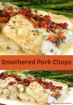 With the flexibility of an Omelette, it's not surprising that this meal is a favorite all over the world. Made from eggs, a little cooking oil or butter and your favorite fillings, Omelettes aren't just for breakfast. Healthy Meats, Healthy Meat Recipes, Beef Recipes For Dinner, Cooking Recipes, Healthy Eating, Entree Recipes, Pork Lion Chops Recipes, Pork Chop Recipes, Pork Meals