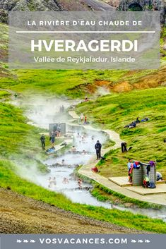 Une baignade dans la rivière d'eau chaude de Hveragerdi vous tente ? Voici une belle randonnée dans les alentours de Reykjavik qui vous surprendra. #reykjaladur #hveragerdi #hotspringriver #rivière #islande #randonnée #baignade #eau #chaude