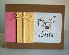Lawn Fawn Card - toast